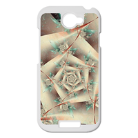 white rose Personalized Case for HTC ONE S