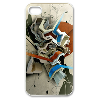 3d a bunch of flower Case for iPhone 4,4S