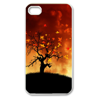 the tree on the moutain Case for iPhone 4,4S
