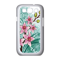 pink flowers with fruit Case for Samsung Galaxy S3 I9300