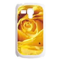 golden peony Custom Cases for Samsung Galaxy SIII mini i8190