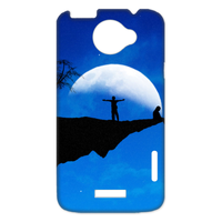 night moon Case for HTC One X +