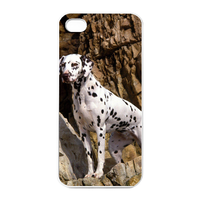 brave Dalmatian Charging Case for Iphone 4