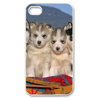 dog brothers Case for iPhone 4,4S