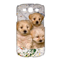 dog family Case for Samsung Galaxy S3 I9300 (3D)