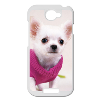 dog in pink dress Personalized Case for HTC ONE S
