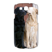 dog kiss Case for Samsung Galaxy S3 I9300 (3D)