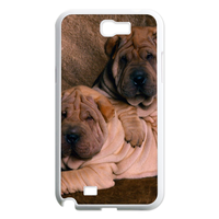 dog lovers at home Case for Samsung Galaxy Note 2 N7100