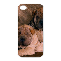 dog lovers at home Charging Case for Iphone 4