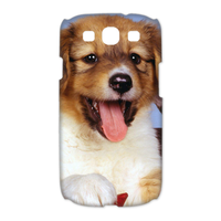 dog and cat Case for Samsung Galaxy S3 I9300 (3D)
