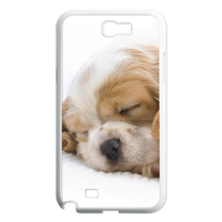 dog and doll Case for Samsung Galaxy Note 2 N7100