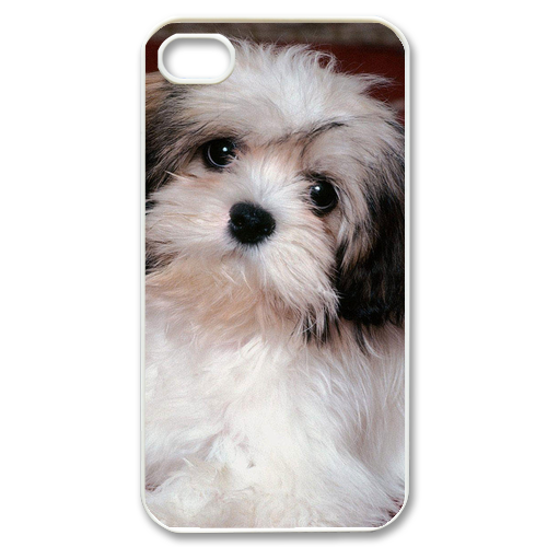 elegant dog Case for iPhone 4,4S