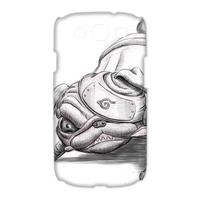 shar pei Warrior Case for Samsung Galaxy S3 I9300 (3D)