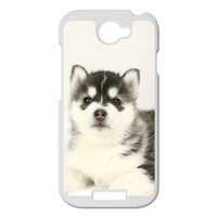 Siberian Husky Personalized Case for HTC ONE S