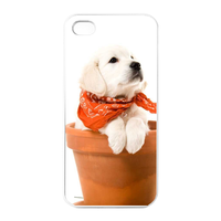 self-confident dog Charging Case for Iphone 4