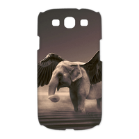 the elephant flying Case for Samsung Galaxy S3 I9300 (3D)