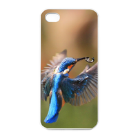 two kingfisher Charging Case for Iphone 4