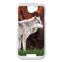 white shepherd dog Personalized Case for HTC ONE S
