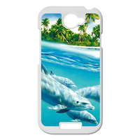dolphins Personalized Case for HTC ONE S
