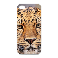 thinking leopard Charging Case for Iphone 4