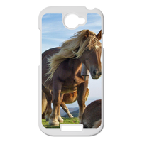 two strong horses Personalized Case for HTC ONE S
