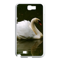 white goose Case for Samsung Galaxy Note 2 N7100