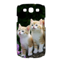four cat brothers Case for Samsung Galaxy S3 I9300 (3D)