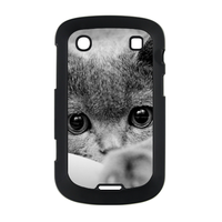 grey cat Case for BlackBerry Bold Touch 9900