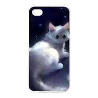 little cat princess Charging Case for Iphone 4