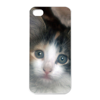 the missing cat Charging Case for Iphone 4