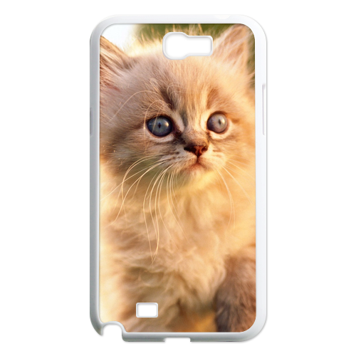 the morning cat Case for Samsung Galaxy Note 2 N7100