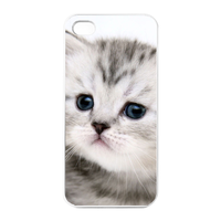 the surprise cat Charging Case for Iphone 4