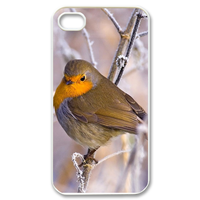 yellow bird Case for iPhone 4,4S