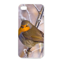 yellow bird Charging Case for Iphone 4