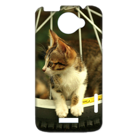 cat on the wheel Case for HTC One X +
