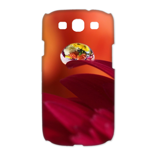 nice flowers Case for Samsung Galaxy S3 I9300 (3D)