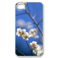 nice plum flowers Case for iPhone 4,4S