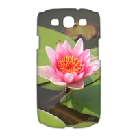 one lotus Case for Samsung Galaxy S3 I9300 (3D)