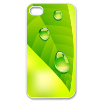 one morning leaf Case for iPhone 4,4S