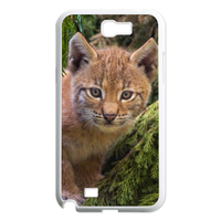brown cat Case for Samsung Galaxy Note 2 N7100