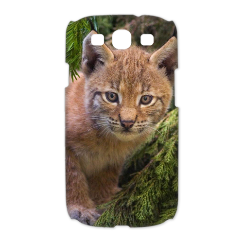 brown cat Case for Samsung Galaxy S3 I9300 (3D)