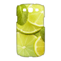 fresh lemon tea Case for Samsung Galaxy S3 I9300 (3D)
