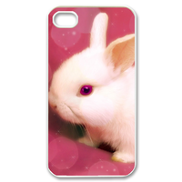 nice rabbit Case for iPhone 4,4S