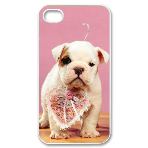 two lovely dogs Case for iPhone 4,4S