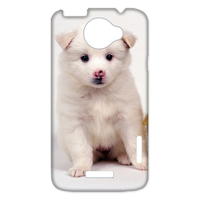 white dog with ducks Case for HTC One X +