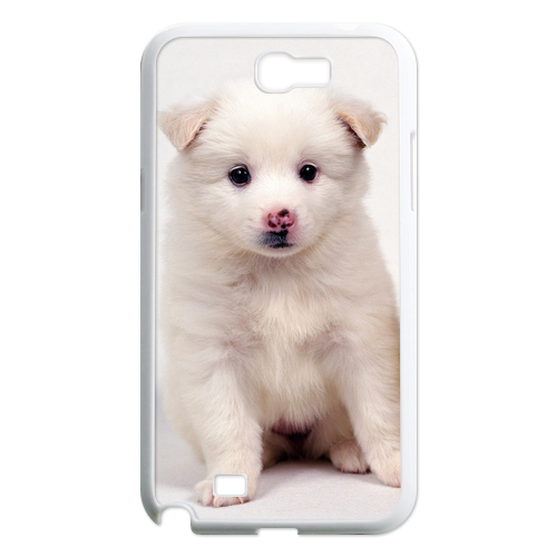 white dog with ducks Case for Samsung Galaxy Note 2 N7100