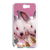 rabbit sisters Case for Samsung Galaxy Note 2 N7100