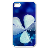 three leaves Case for iPhone 4,4S