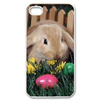 two rabbits Case for iPhone 4,4S