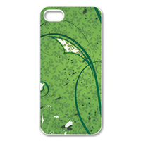 green wall Case for Iphone 5